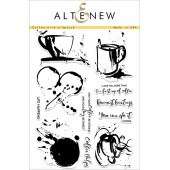 Набор штампов Altenew COFFEE WITH A SPLASH