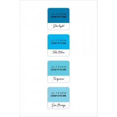 Набор чернильных подушечек Altenew Crisp Inks DEEP BLUE SEAS