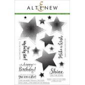 Набор штампов Altenew HALFTONE STARS