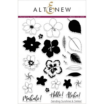 Набор штампов Altenew TOTALLY TROPICAL