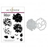 Набор штампов и ножей для вырубки Altenew BUILD-A-FLOWER: CHRYSANTHEMUM