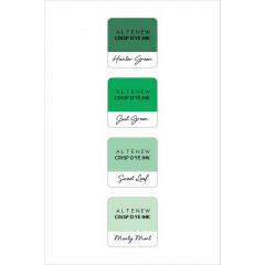 Набор чернильных подушечек Altenew Crisp Inks GREEN MEADOWS