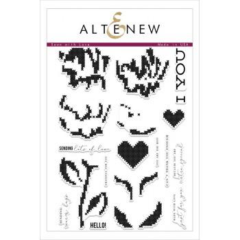 Набор штампов Altenew SEWN WITH LOVE