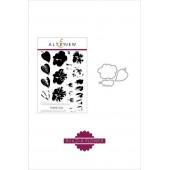 Набор штампов и ножей для вырубки Altenew BUILD-A-FLOWER: HIBISCUS