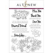 Набор штампов Altenew DEAREST FRIEND