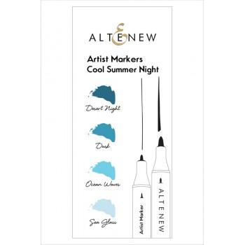 Набор маркеров Altenew ARTIST MARKERS COOL SUMMER NIGHT