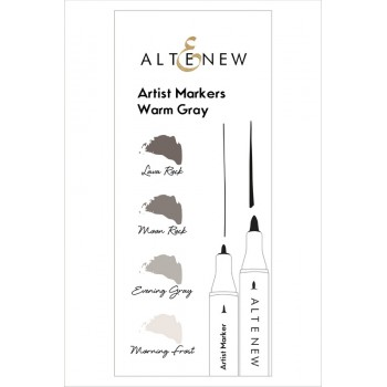 Набор маркеров Altenew ARTIST MARKERS WARM GRAY