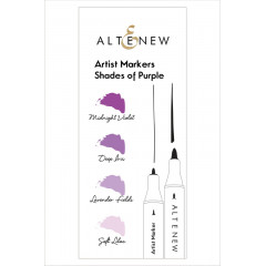 Набор маркеров Altenew ARTIST MARKERS SHADES OF PURPLE