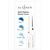 Набор маркеров Altenew ARTIST MARKERS GLACIER CAVES