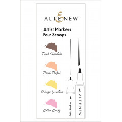 Набор маркеров Altenew ARTIST MARKERS FOUR SCOOPS