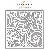 Трафарет Altenew ELEGANT SWIRLS