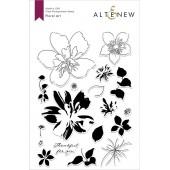 Набор штампов Altenew FLORAL ART