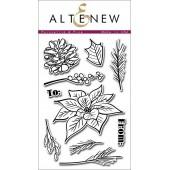 Набор штампов Altenew POINSETTIA & PINE