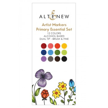 Набор маркеров Altenew ARTIST MARKERS primary essential set