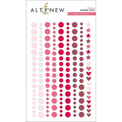 Эмалевые точки Altenew RED COSMOS ENAMEL DOTS