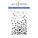 Штамп Altenew RAINING HEARTS