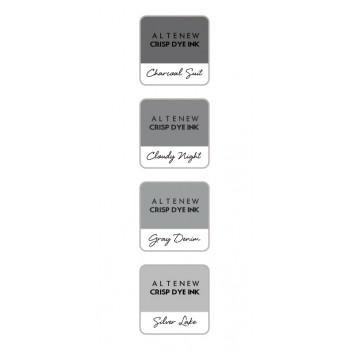 Набор чернильных подушечек Altenew Crisp Inks GENTLEMAN'S GRAY