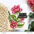 Набор штампов Altenew ENGRAVED FLOWERS