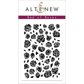 Штамп Altenew BED OF ROSES