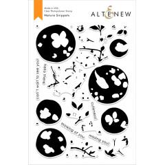 Набор штампов Altenew NATURE SNIPPETS