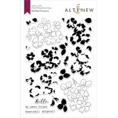 Набор штампов Altenew RUFFLED FLOWERS