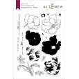 Набор штампов и ножей для вырубки Altenew BUILD-A-FLOWER: POPPY