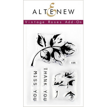 Набор штампов Altenew VINTAGE ROSES ADD-ON