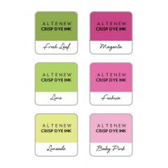 Набор чернильных подушечек Altenew Crisp Inks SPRING BOUQUET 6 Mini Cube Set