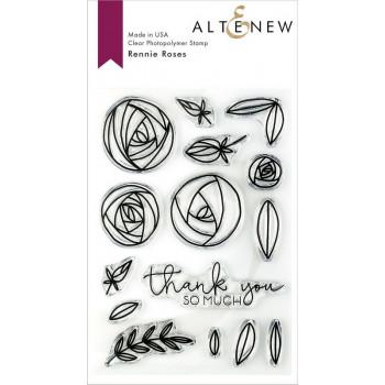 Набор штампов Altenew RENNIE ROSES