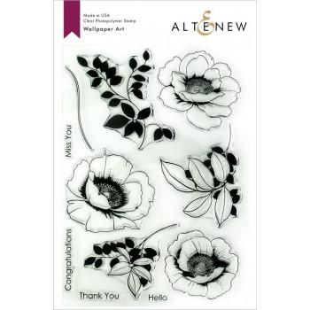 Набор штампов Altenew WALLPAPER ART