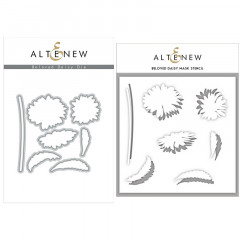 Набор ножей для вырубки и масок Altenew BELOVED DAISY