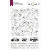 Набор штампов Altenew DELICATE FLOWER BED