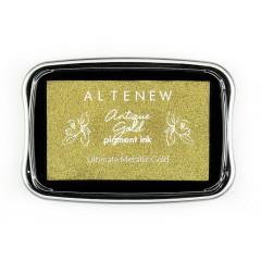 Чернильная подушечка Altenew ANTIQUE GOLD PIGMENT INK