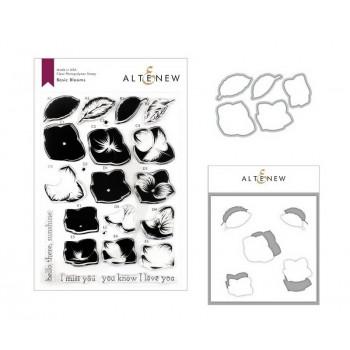 Набор штампов, ножей для вырубки и масок Altenew BASIC BLOOMS