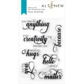 Набор штампов Altenew FANCY GREETINGS