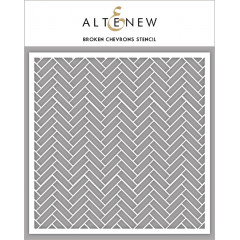 Трафарет Altenew BROKEN CHEVRONS