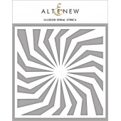 Трафарет Altenew ILLUSION SPIRAL