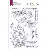 Набор штампов Altenew FOREVER IN LOVE