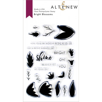 Набор штампов Altenew BRIGHT BLOSSOMS