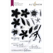 Набор штампов Altenew PLAYFUL PLUMERIA
