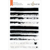 Набор штампов Altenew BIRCH IMPRESSIONISM