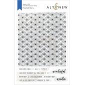 Набор штампов Altenew FACETED STARS