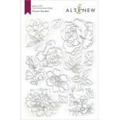 Набор штампов Altenew FLOWER GARDEN