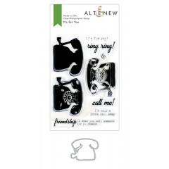 Набор штампов и ножей для вырубки Altenew IT'S FOR YOU BUNDLE