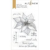 Набор штампов Altenew MODERN POINSETTIA