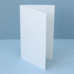 Заготовки для открыток 10х18см из белого кардстока 3шт