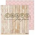 Набор бумаги для скрапбукинга CraftPaper БОХО-ШИК 20х20см