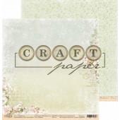 Лист бумаги для скрапбукинга CraftPaper ВИШНЯ коллекция Вишневый сад 30х30см