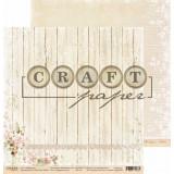 Лист бумаги для скрапбукинга CraftPaper ПРЕКРАСНАЯ ТЫ коллекция Вишневый сад 30х30см