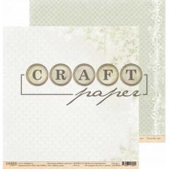Лист бумаги для скрапбукинга CraftPaper МЕЖДУ НАМИ коллекция Вместе навсегда 30х30см